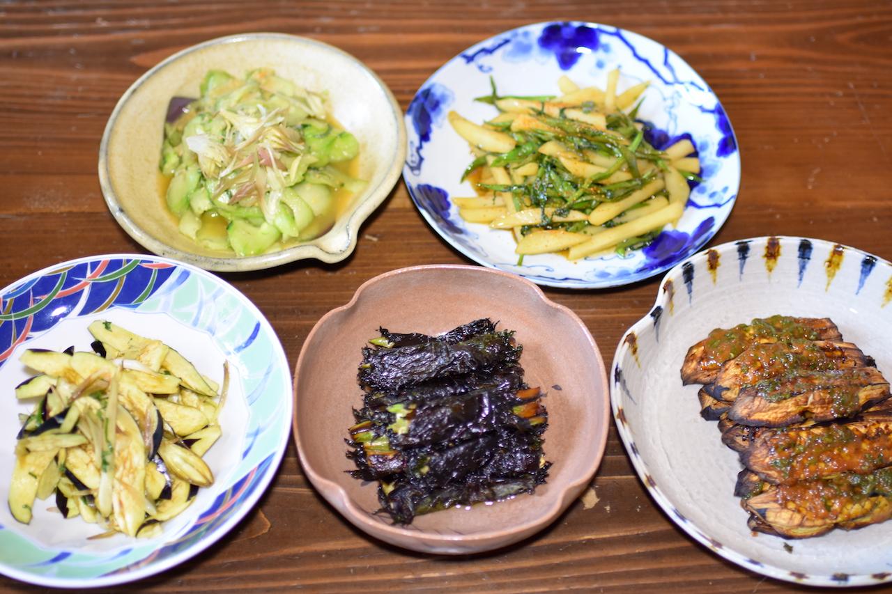食べ方いろいろ夏野菜